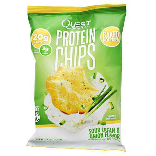 Quest Nutrition Protein Chips - Sour Cream & Onion - 8 ea