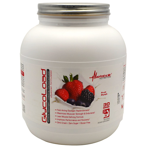 Metabolic Nutrition GlycoLoad - Fruit Punch - 600 g