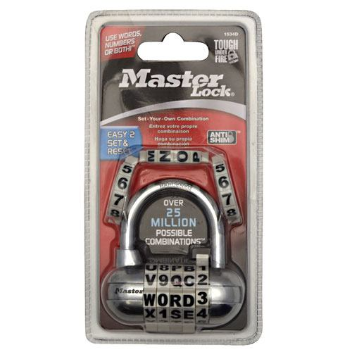 Master Lock Fusion Password Lock - 1 ea