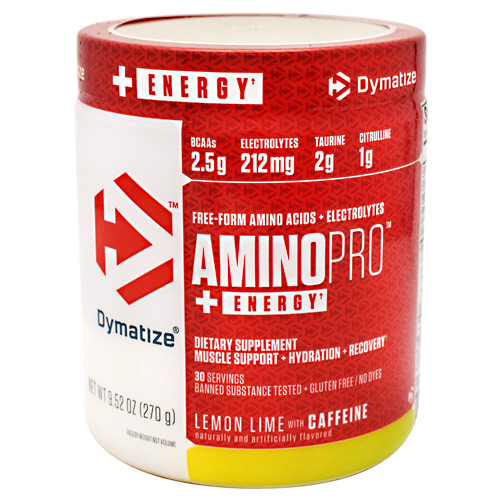 Dymatize AminoPro + Energy - Lemon Lime - 30 ea