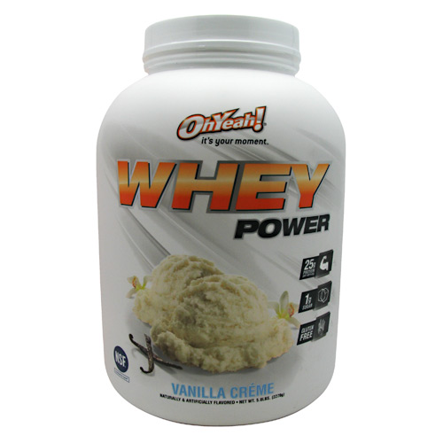 ISS Research Oh Yeah! Whey Power - Vanilla Creme - 5 lb