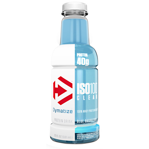 Dymatize ISO100 Clear - Blue Raspberry - 20 fl oz
