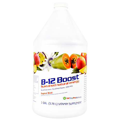 High Performance Fitness B-12 Boost - Tropical Blast - 1 gallon