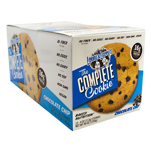 Lenny & Larrys All-Natural Complete Cookie - Chocolate Chip - 12 ea