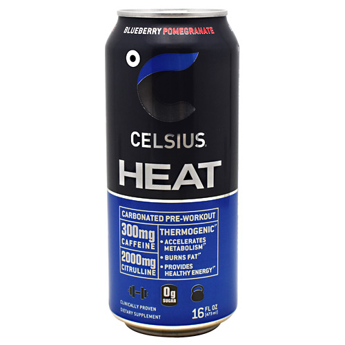 Celsius Celsius Heat - Blueberry Pomegranate - 12 ea
