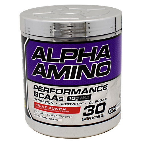 Cellucor Chrome Series Alpha Amino - Fruit Punch - 30 ea