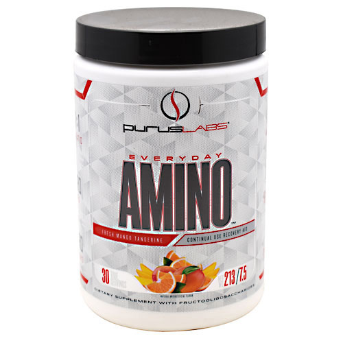 Purus Labs Everyday Amino - Fresh Mango Tangerine - 30 ea