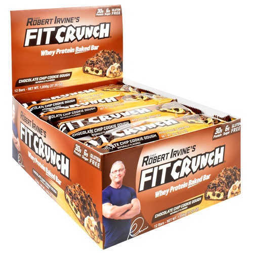 Fit Crunch Bars Fit Crunch Bar - Chcolate Chip Cookie Dough - 12 ea
