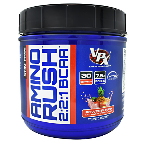 VPX Amino Rush - Power Punch - 30 ea