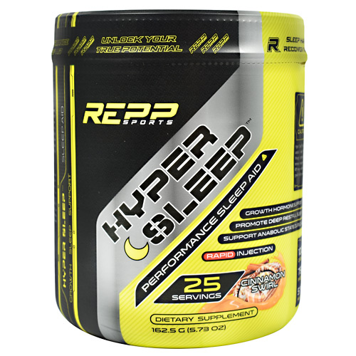Repp Sports Hyper Sleep - Cinnamon Swirl - 25 ea