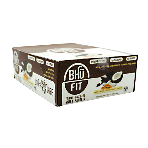 Bhu Foods BHU FIT BHU Fit Primal Protein - Dark Chocolate Coconut Almond - 12 ea