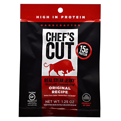 Chefs Cut Real Jerky Real Steak Jerky - Original Recipe - 1.25 oz