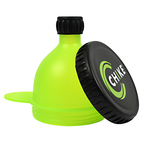 Chike Nutrition Fill-N-Go Powder Funnel - Green and Black