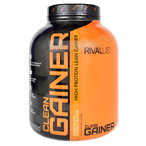 Rivalus Clean Gainer - Chocolate Peanut Butter - 5 lb