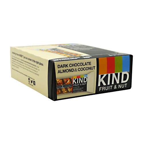 Kind Snacks Kind Fruit & Nut - Dark Chocolate Almond & Coconut - 12 ea