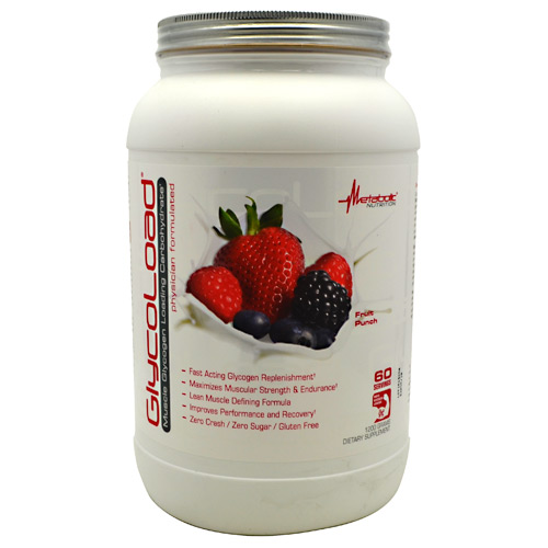 Metabolic Nutrition GlycoLoad - Fruit Punch - 1200 g