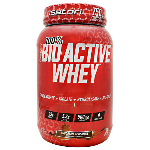 iSatori Technologies Bio-Active Whey - Chocolate Sensation - 30 ea