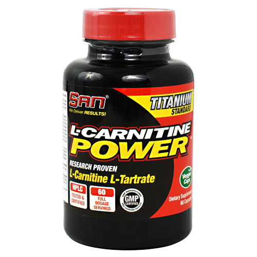 SAN L-Carnitine Power - 60 ea