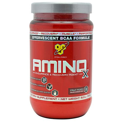 BSN Amino X - Fruit Punch - 30 ea