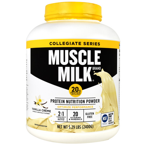 Cytosport Collegiate Series Muscle Milk - Vanilla Creme - 5.29 lb