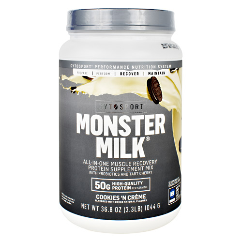 Cytosport Monster Milk - Cookies 'N Crème - 2.3 lb