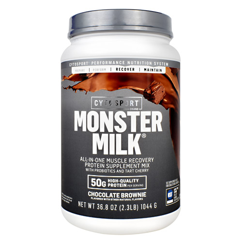 Cytosport Monster Milk - Chocolate Brownie - 2.3 lb