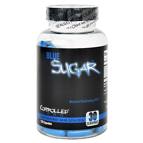 Controlled Labs Blue Sugar - 120 ea