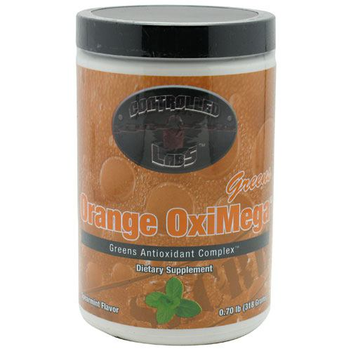 Controlled Labs Orange OxiMega Greens - Spearmint - 60 ea