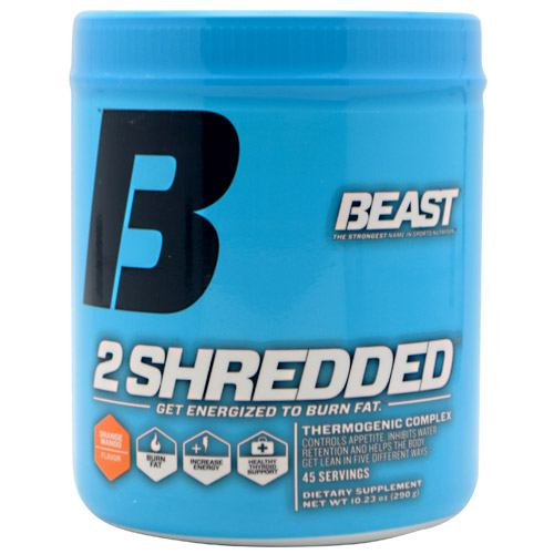 Beast Sports Nutrition 2 Shredded - Orange Mango - 45 ea