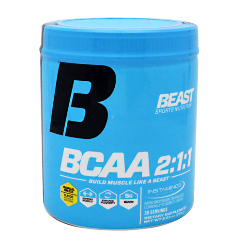 Beast Sports Nutrition BCAA 2:1:1 - Tropical Breeze - 30 ea