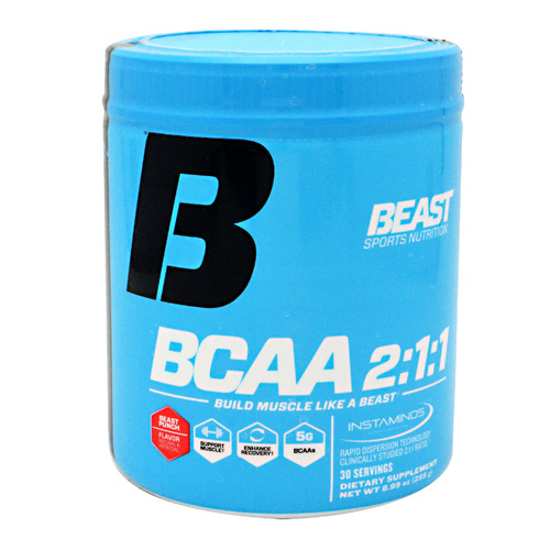 Beast Sports Nutrition BCAA 2:1:1 - Beast Punch - 30 ea