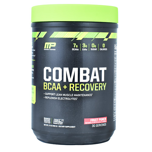 MusclePharm Combat Series Combat BCAA + Recovery - Fruit Punch - 30 ea