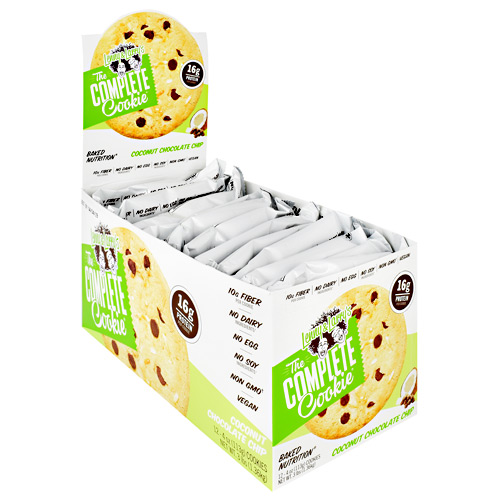 Lenny & Larrys The Complete Cookie - Coconut Chocolate Chip - 12 ea