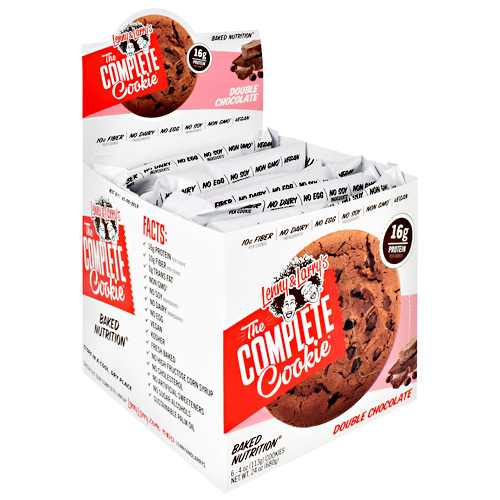 Lenny & Larrys The Complete Cookie - Double Chocolate - 6 ea