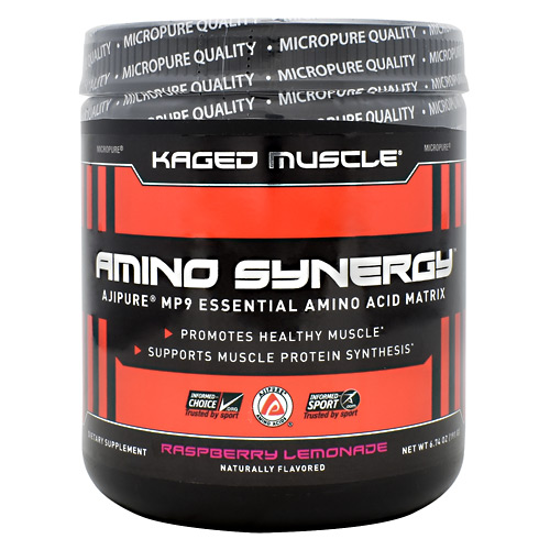 Kaged Muscle Amino Synergy - Raspberry Lemonade - 30 ea