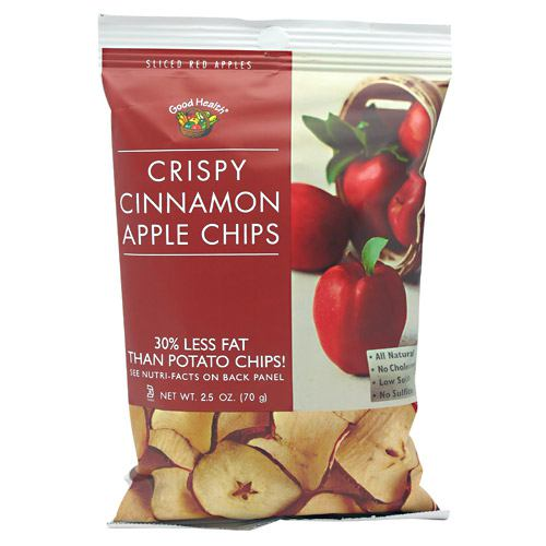 Good Health Natural Foods Apple Chips - Crispy Cinnamon - 12 ea