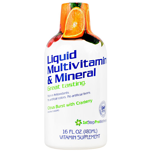 High Performance Fitness Liquid Multivitamin & Mineral - Citrus Burst with Cranberry - 16 oz
