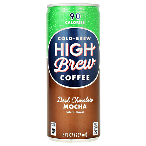 High Brew Coffee Cold Brew Coffee RTD - Dark Chocolate Mocha - 12 ea