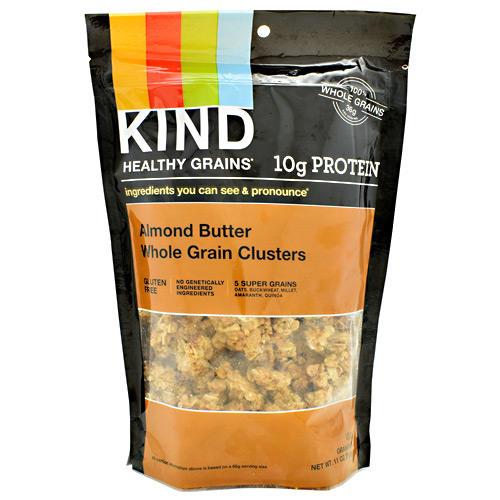 Kind Snacks Healthy Grains Whole Grain Clusters - Almond Butter - 11 oz