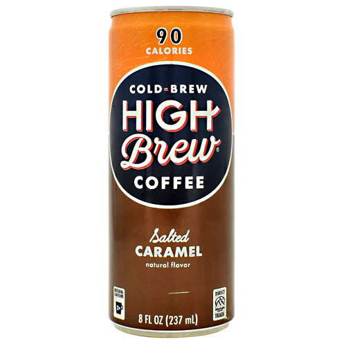 High Brew Coffee Cold Brew Coffee RTD - Salted Caramel - 12 ea