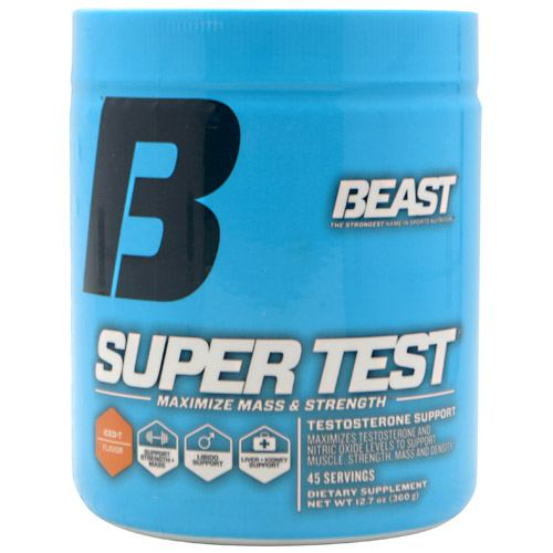 Beast Sports Nutrition Super Test - Iced T Flavor - 45 ea