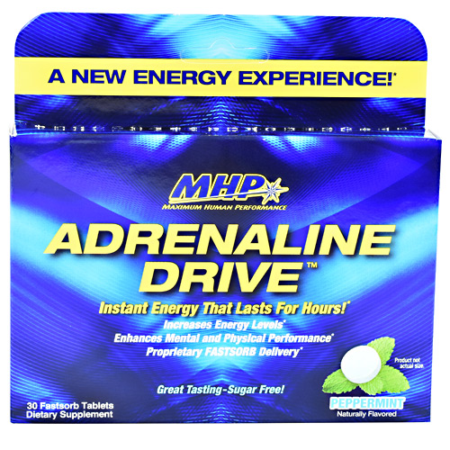 MHP Adrenaline Drive - Peppermint - 30 ea