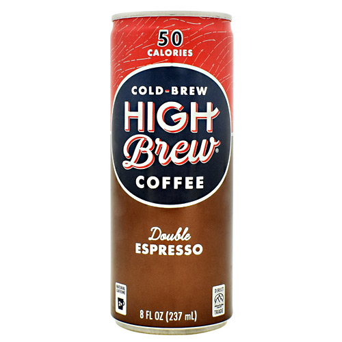 High Brew Coffee Cold Brew Coffee RTD - Double Espresso - 12 ea