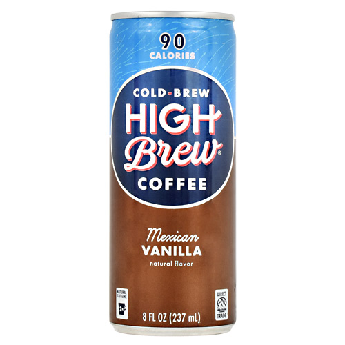 High Brew Coffee Cold Brew Coffee RTD - Mexican Vanilla - 12 ea