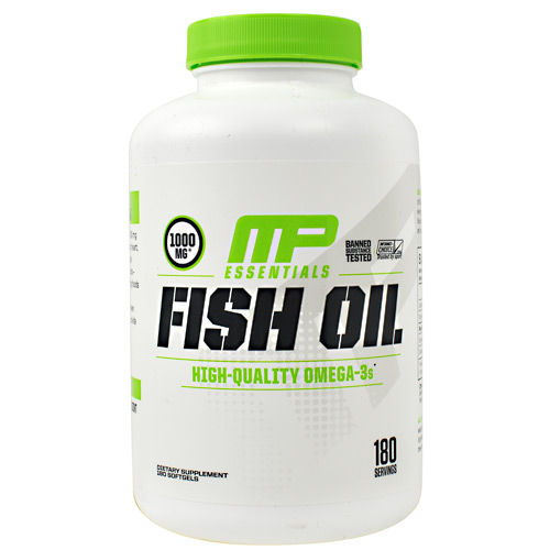 MusclePharm Essentials Fish Oil - 180 ea
