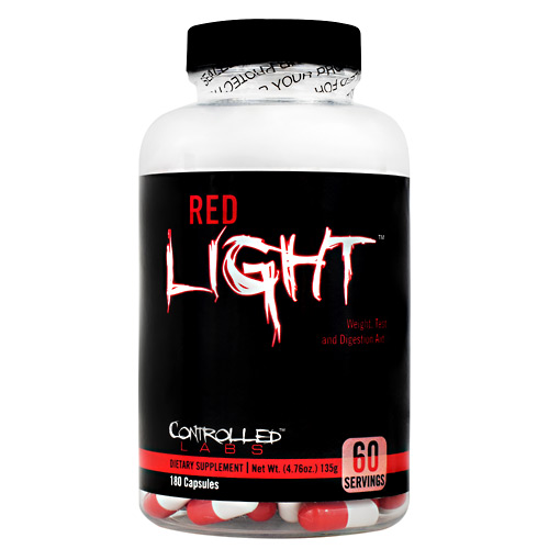 Controlled Labs Red Light - 180 ea
