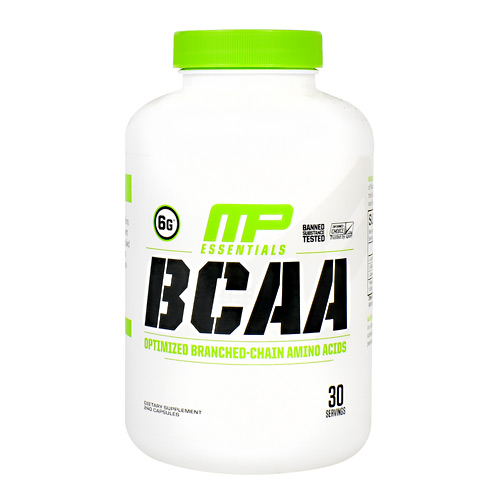 MusclePharm Essentials BCAA - 240 ea