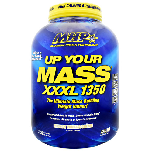MHP Up Your Mass XXXL 1350 - French Vanilla Creme - 6 lb