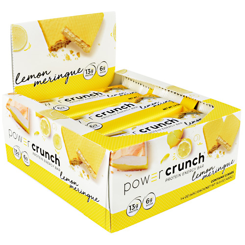 Power Crunch Power Crunch - Lemon Meringue - 12 ea