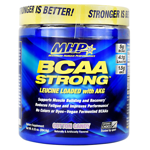MHP BCAA Strong - Cotton Candy - 30 ea